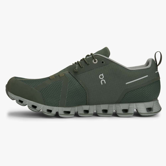 Men's On Cloud Waterproof Running Shoes - Forest/Lunar