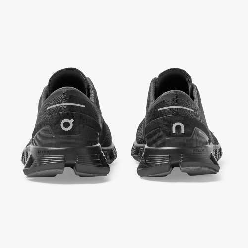 On Women's Cloud X Training Shoes - Black/Asphalt (New Generation)