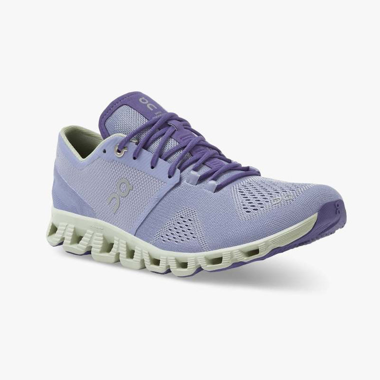 On Women's Cloud X Training Shoes - Lavender/Ice