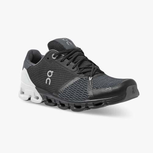 On Men's Cloudflyer Running Shoes - Black/White