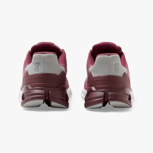 On Women's Cloudflyer Running Shoes - Magenta/Mulberry