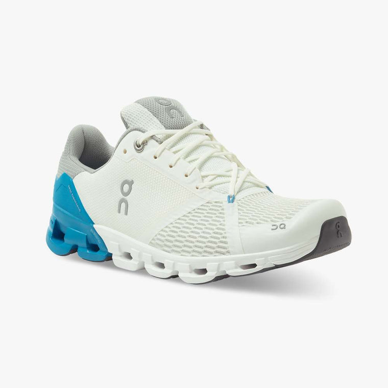 On Men's Cloudflyer Running Shoes - Blue/White