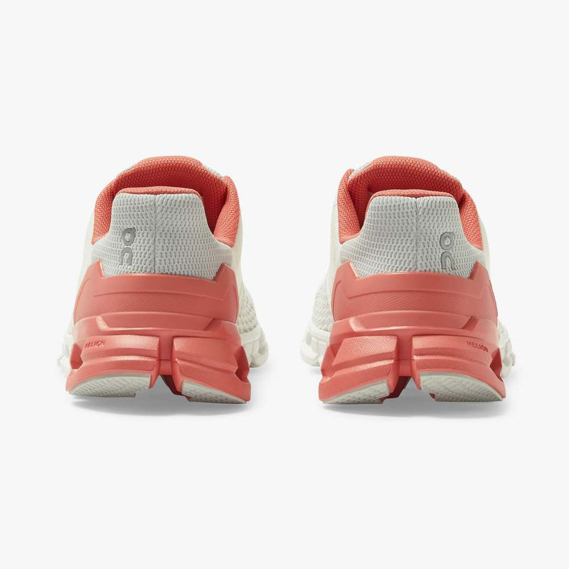 On Women's Cloudflyer Running Shoes - White/Coral