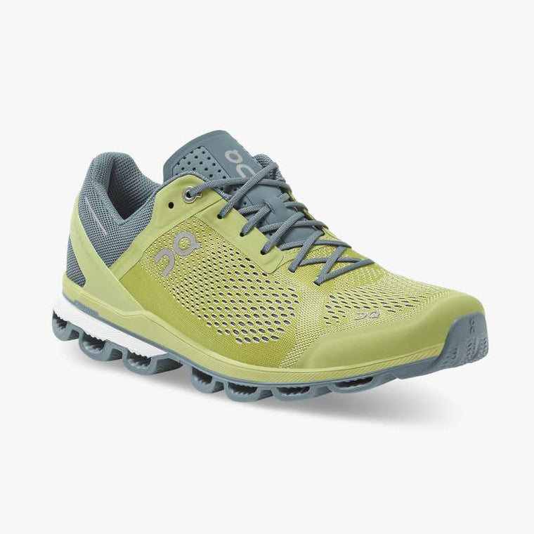 On Men's Cloudsurfer Running Shoes - Zest/Dust
