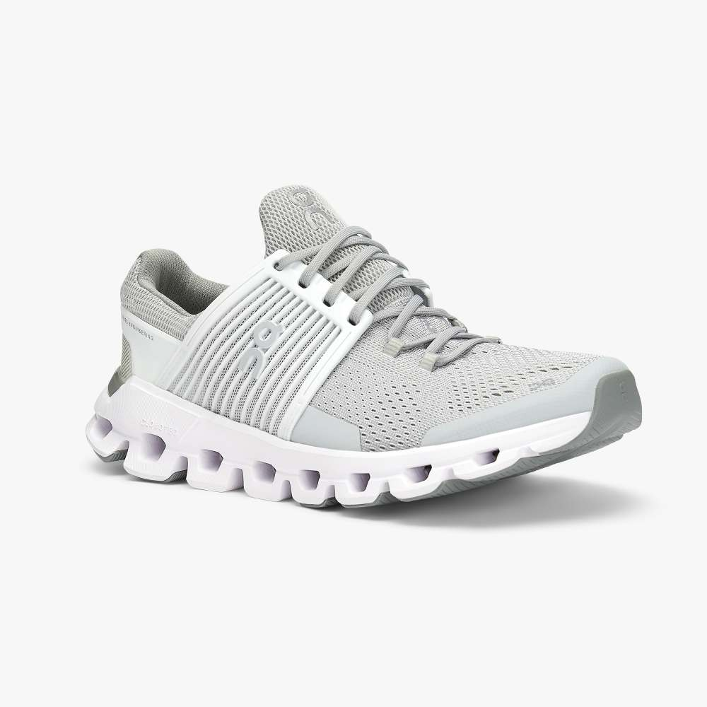 Cloudswift Running Shoes - Glacier/White