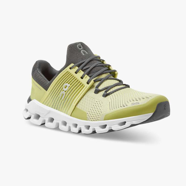 On Men's Cloudswift Training Shoes - Limelight/Rock