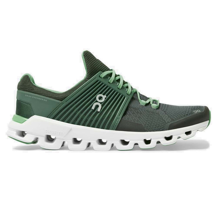 On Men's Cloudswift Running Shoes - Ivy/Jungle