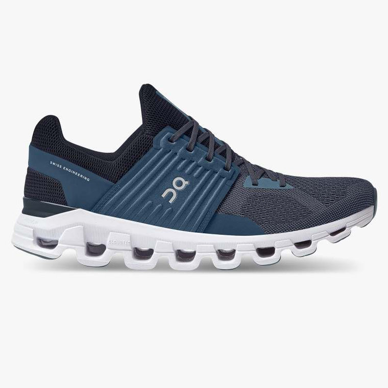 On Men's Cloudswift Running Shoes - Denim/Midnight (New Generation)