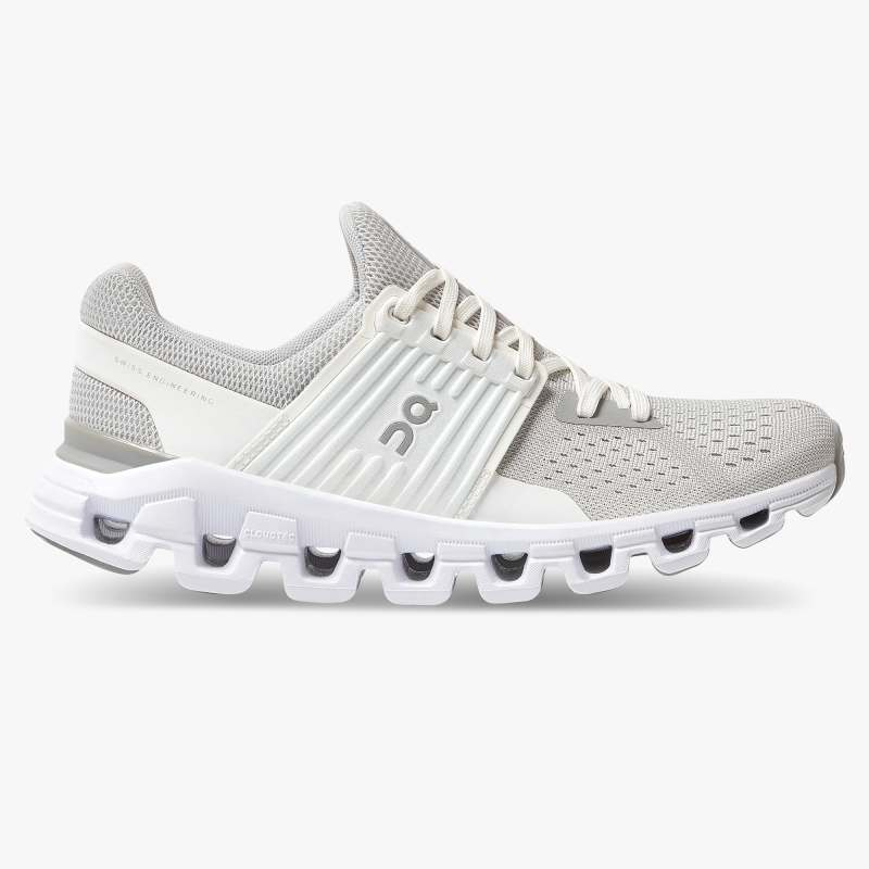 On Women's Cloudswift Running Shoes - Glacier/White (New Generation)