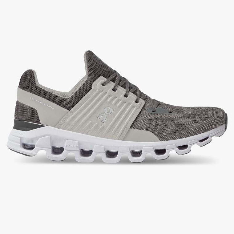On Men's Cloudswift Running Shoes - Rock/Slate (New Generation)