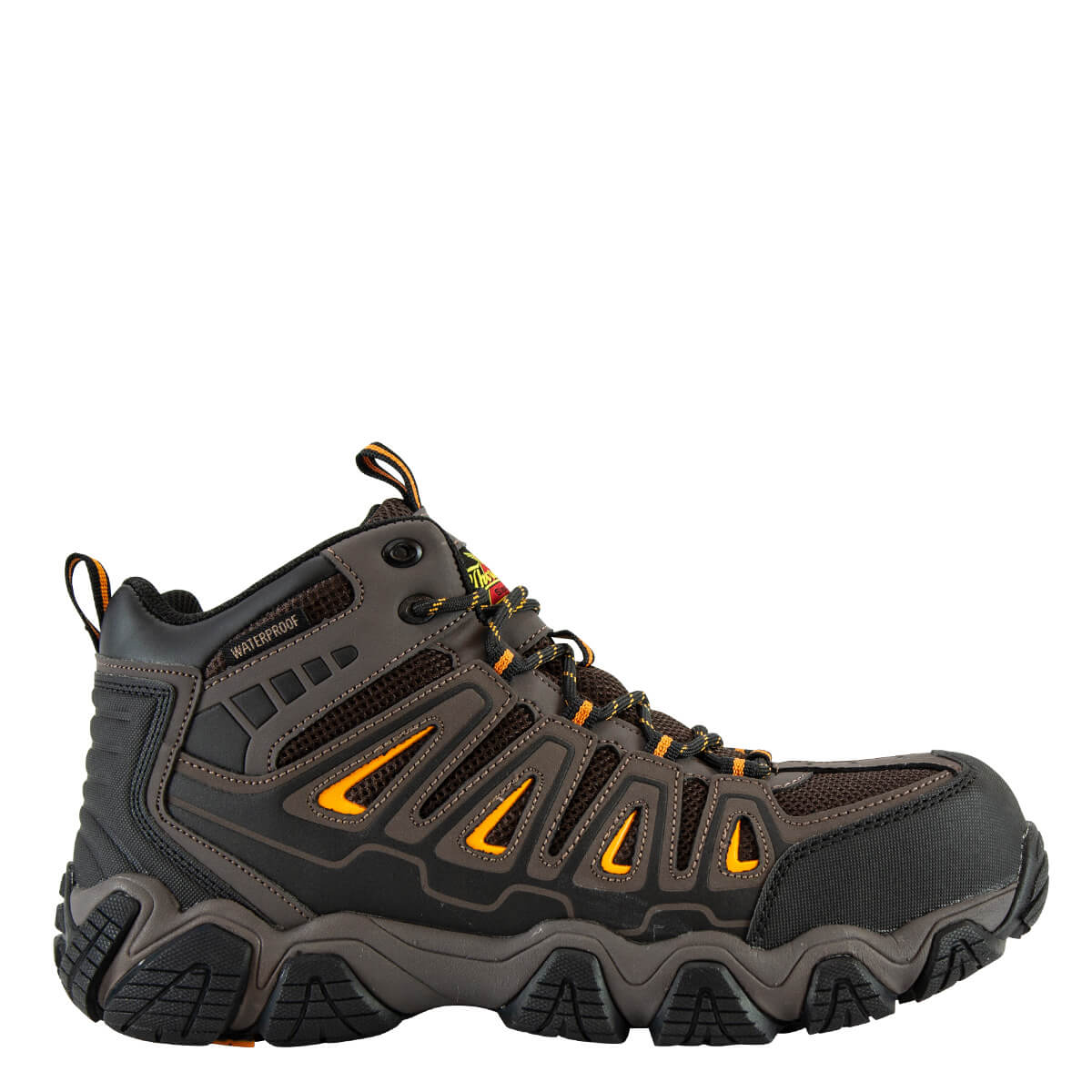 Thorogood Men's 804-4291 Crosstex Waterproof Safety Toe Mid Hiker - Brown