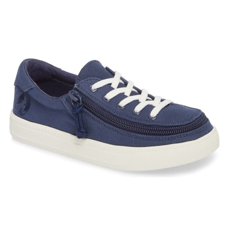 Kids' BILLY Footwear Classic Lace Zip Low - Navy