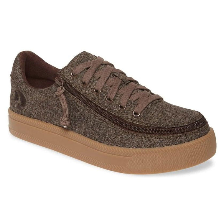 Men's BILLY Footwear Classic Low Sneaker - Brown Jersey