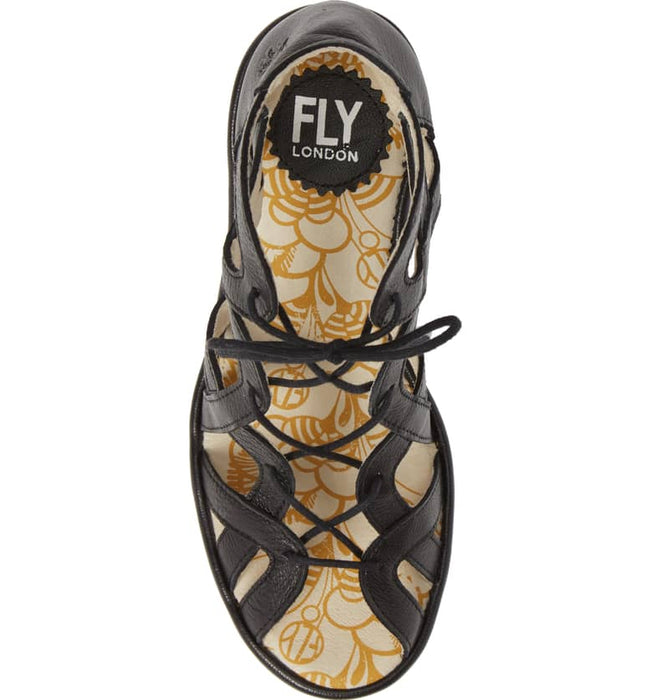 Women's Fly London Want - Black Mousse