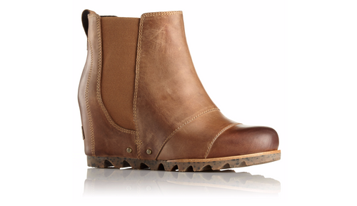 Women's Lea Wedge Boots - Elk/Curry