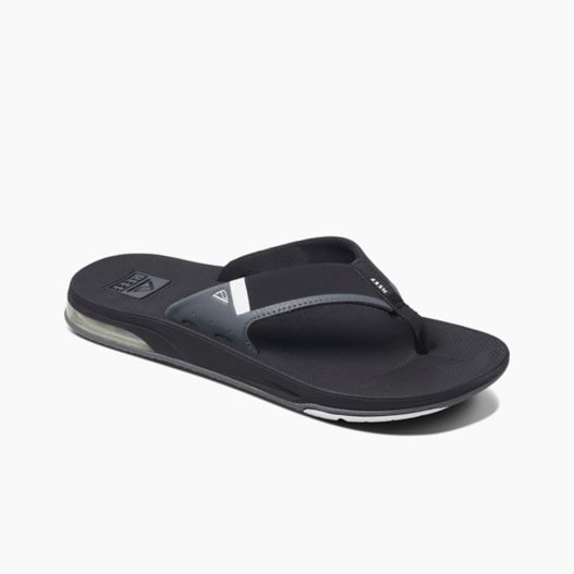 Men's Reef Fanning Low - Black/White
