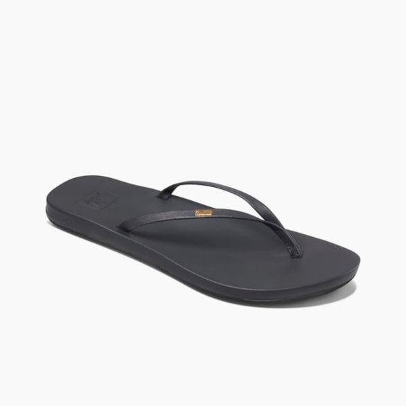 Women's Reef Cushion Bounce Slim - Black