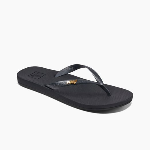 Women's Reef Escape Lux + Bling - Black