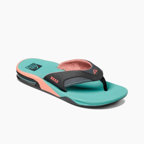 Men's Reef Fanning Flip Flops - Watermelon