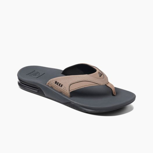 Men's Reef Fanning - Tan/Black/Tan
