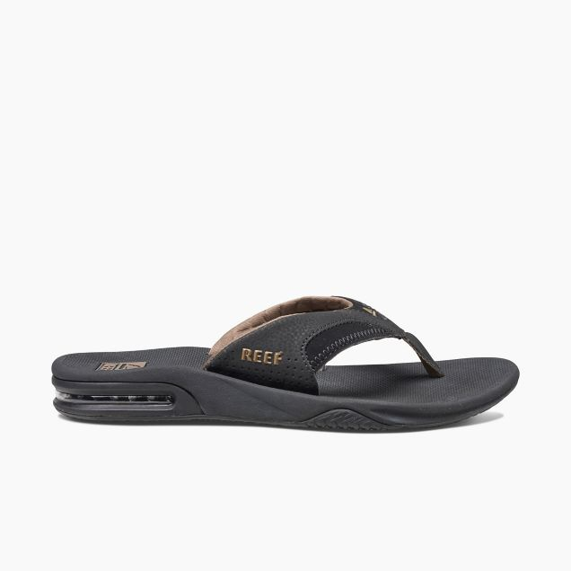 Men's Reef Fanning - Black/Brown