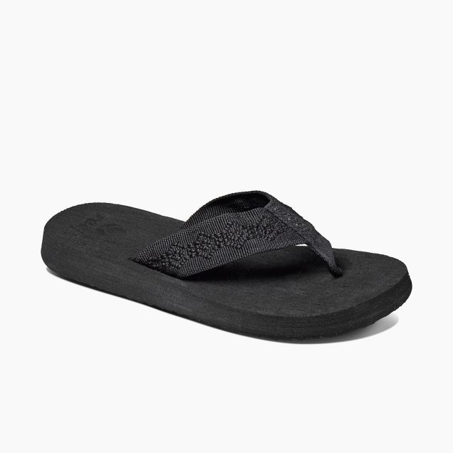 Reef Women's Sandy Flip Flops - Black/Black