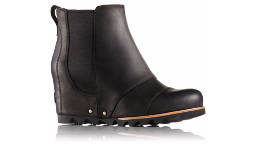 Women's Lea Wedge Boots - Black/Quarry