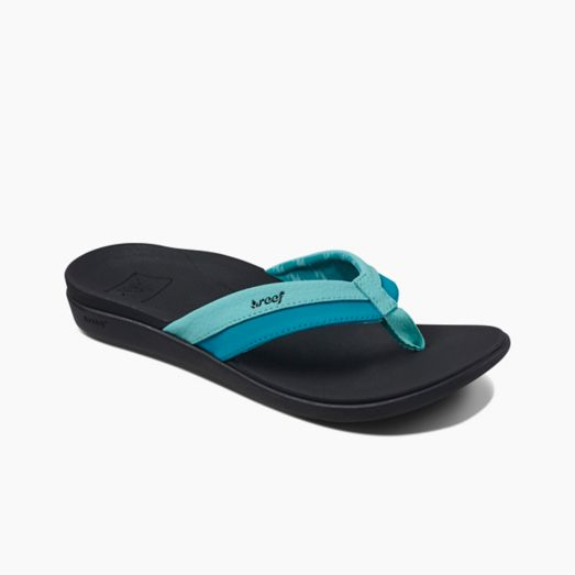 Women's Reef Ortho-Bounce Coast - Aqua