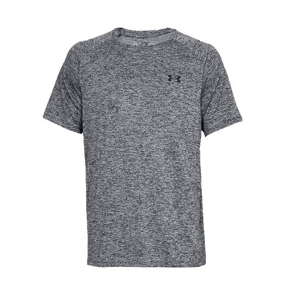Men's Under Armour UA Tech 2.0 Short Sleeve T-Shirt - Black Heathered