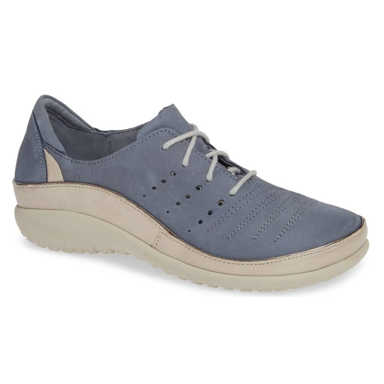 Women's Naot Kumara - Feathery Blue Nubuck/Stardust Leather