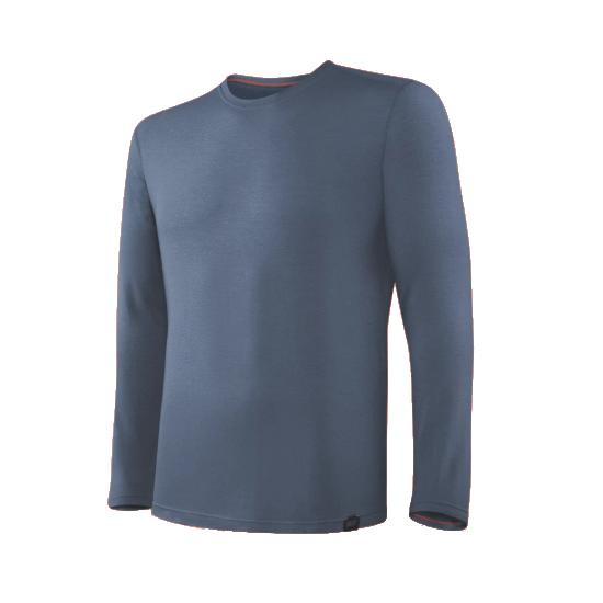 SAXX Men's Sleepwalker Long Sleeve Long Sleeve - Dark Denim