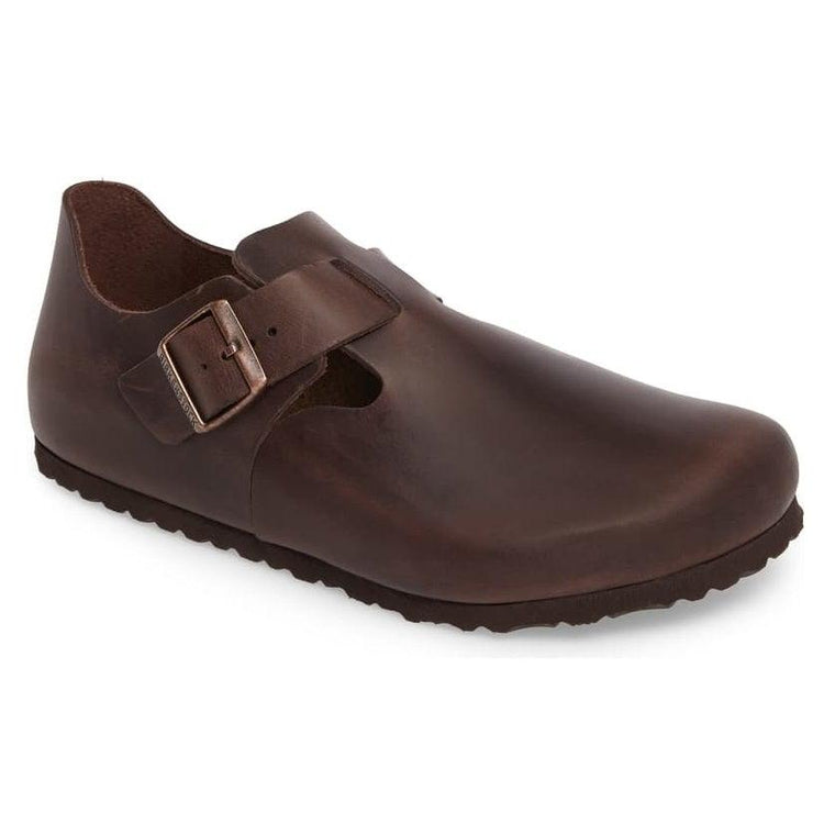 Birkenstock Men's London Buckle Shoe - Habana Oiled Leather