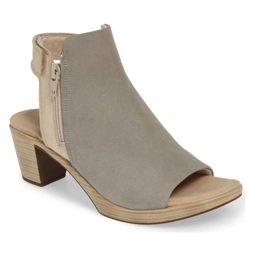 Women's Naot Favorite - Light Grey/Beige Nubuck