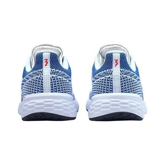 361 Degrees Women's Fierce Running Shoes - White/Nautical Blue