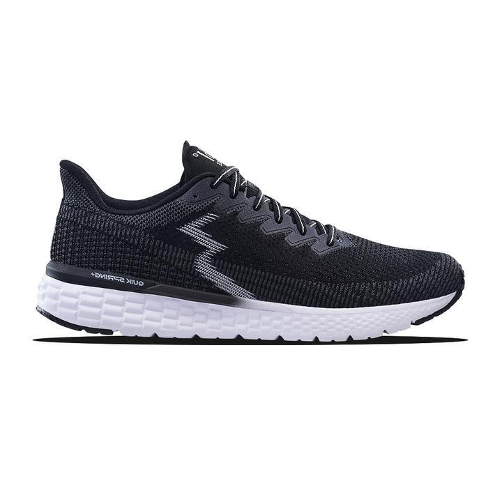 361 Degrees Men's Fierce Running Shoes - Black/Ebony