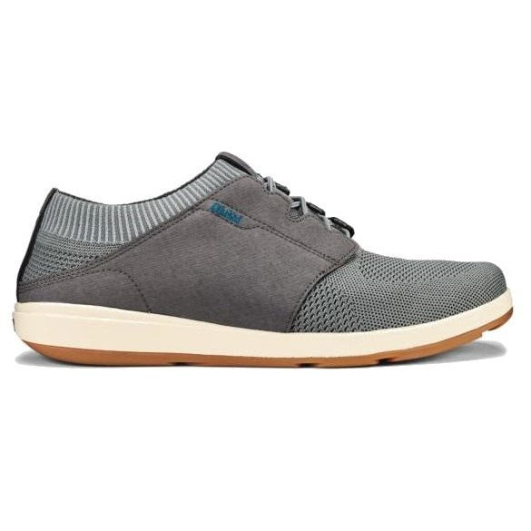 Men's OluKai Makia Ulana Kai Sneakers - Poi/Charcoal