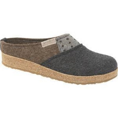 Women's Haflinger Freedom Clog - Charcoal