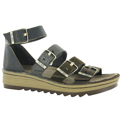 Women's Naot Begonia - Mine/Hash/Brown Croc