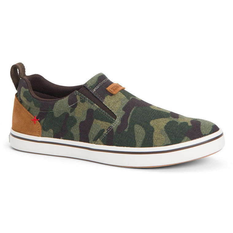 Men's XTRATUF Canvas Sharkbyte Deck Shoe - Camo
