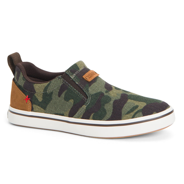 Women's XTRATUF Canvas Sharkbyte Deck Shoe - Camo