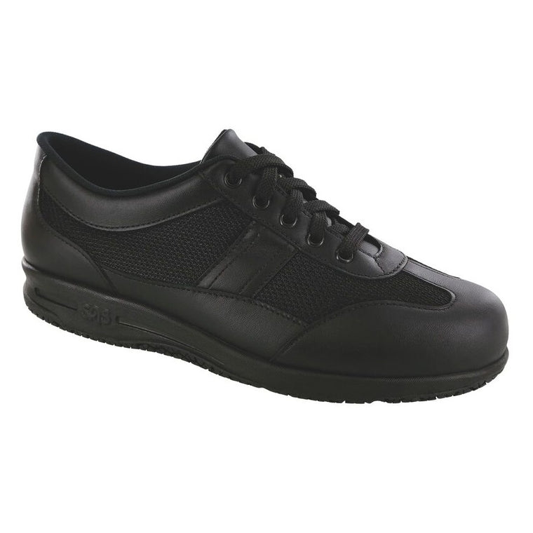 SAS Women's Reverie Non Slip Lace Up Shoe - Black