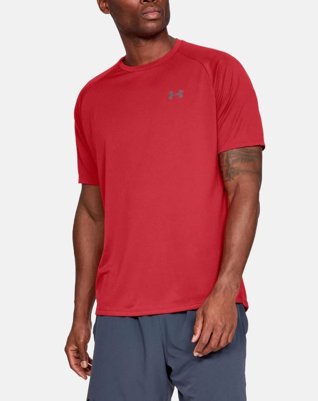 Men's Under Armour UA Tech 2.0 Short Sleeve T-Shirt - Red