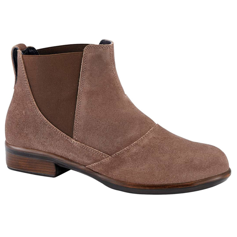 Women's Naot Ruzgar Bootie - Antique Brown Suede