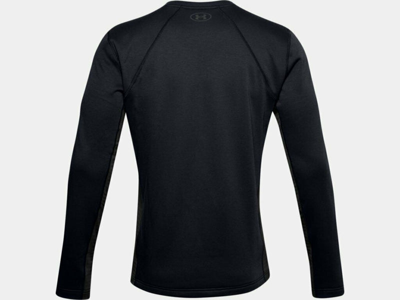 Under Armour Men's UA Extreme Twill Base Crew Shirt - Black/Charcoal