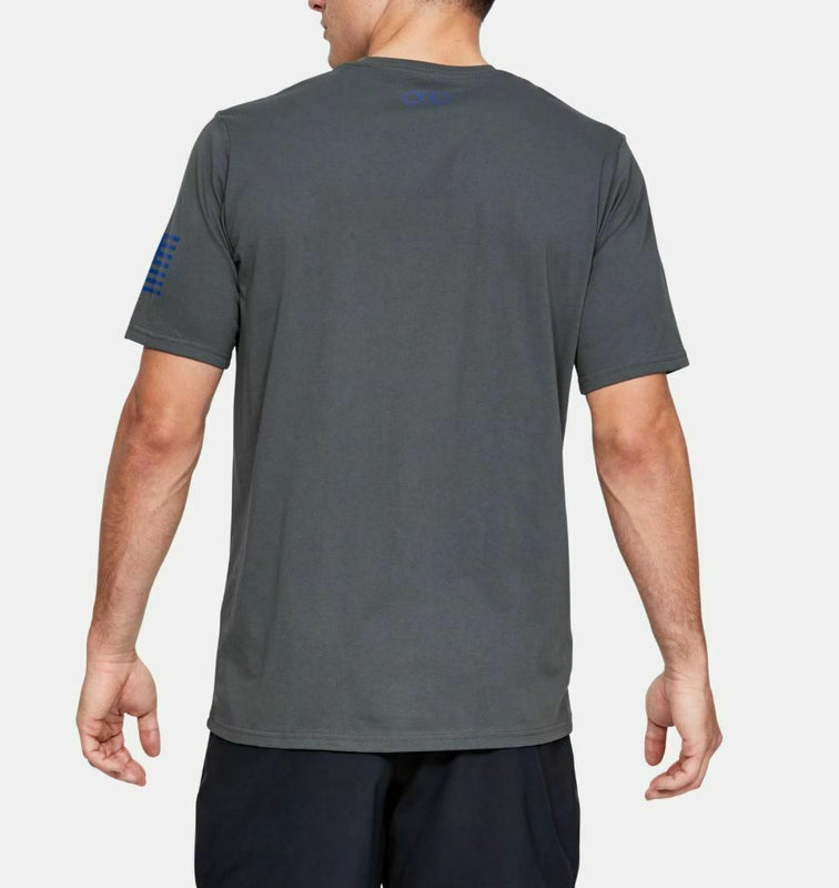 Under Armour Men's UA Freedom USA Graphic T-Shirt - Pitch Gray