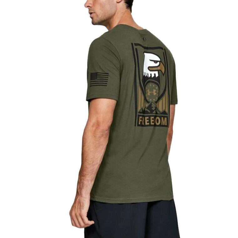 Under Armour Men's Freedom Sentinel T-Shirt - Marine OD Green