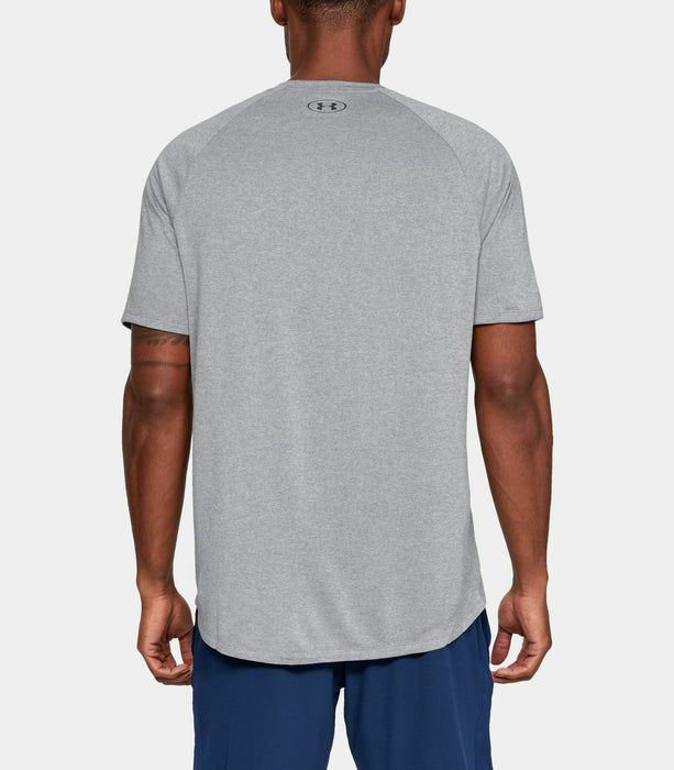 Men's Under Armour UA Tech 2.0 Short Sleeve T-Shirt - Steel Light Heather