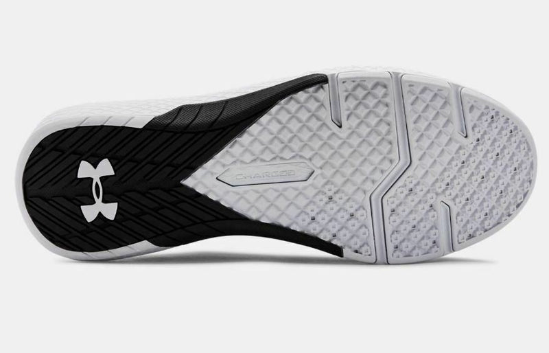 Men's Under Armour UA Charged Commit 2 Training Shoes - Black/White