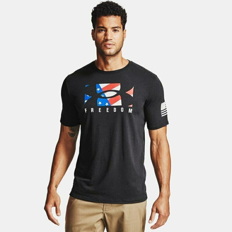 Under Armour Men's UA Freedom New BFL T-Shirt - Black