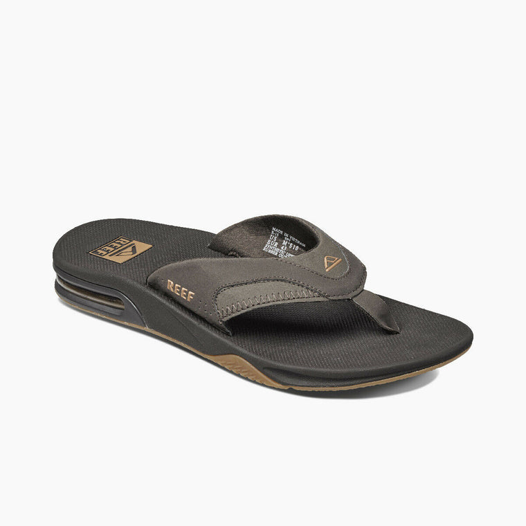Reef Men's Fanning Flip Flop - Brown/Gum